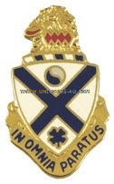 ARMY 114 INFANTRY REGIMENT UNIT CREST