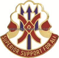 ARMY 114 SUPPORT GROUP UNIT CREST