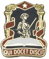 NATIONAL GUARD PRO EDUCATION CENTER UNIT CREST