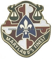 ARMY 115 MILITARY POLICE BATTALION UNIT CREST