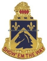 ARMY 117  CAVALRY REGIMENT UNIT CREST