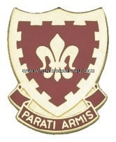 ARMY 117 FIELD ARTILLERY REGIMENT UNIT CREST