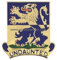 ARMY 119 INFANTRY BATTALION UNIT CREST