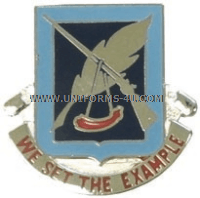 ARMY 120 ADJUTANT GENERAL BATTALION UNIT CREST