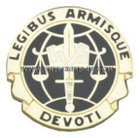 ARMY LEGAL SERVICES AGENCY UNIT CREST