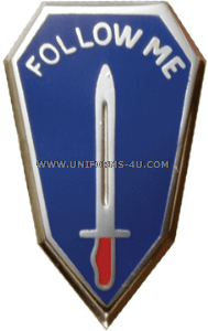 ARMY CENTER AND INFANTRY SCHOOL UNIT CREST