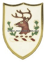 VERMONT STATE AREA COMMAND HQ ARNG UNIT CREST