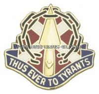 VIRGINIA STATE AREA COMMAND HQ ARNG UNIT CREST