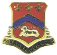 ARMY 123 FIELD ARTILLERY REGIMENT UNIT CREST