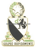 ARMY 124 CAVALRY REGIMENT ARNG TEXAS UNIT CREST