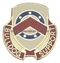 ARMY 125 SUPPORT BATTALION UNIT CREST
