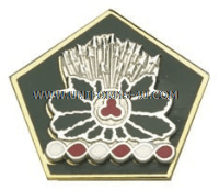 OHIO STATE AREA COMMAND HQ ARNG UNIT CREST