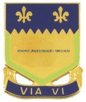 ARMY 127 FIELD ARTILLERY REGIMENT UNIT CREST