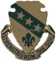 NORTH DAKOTA STATE AREA COMMAND HQ ARNG UNIT CREST