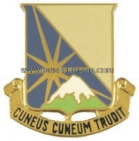 ARMY 129 SUPPORT BATTALION UNIT CREST