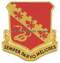 army 130 field artillery regiment unit crest