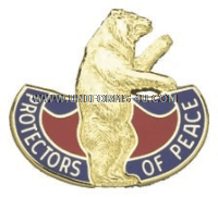 MISSOURI STATE AREA COMMAND HQ ARNG UNIT CREST