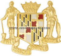 MARYLAND STATE AREA COMMAND HQ ARNG UNIT CREST