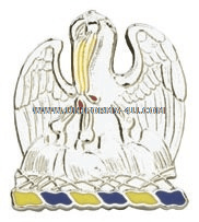 LOUISIANA STATE AREA COMMAND HQ ARNG UNIT CREST