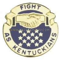KENTUCKY STATE AREA COMMAND HQ ARNG UNIT CREST