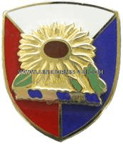 KANSAS STATE AREA COMMAND HQ ARNG UNIT CREST