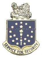 INDIANA STATE AREA COMMAND HQ ARNG UNIT CREST