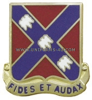 army 134 field artillery regiment unit crest