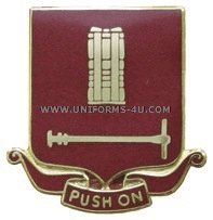 ARMY 136 FIELD ARTILLERY REGIMENT UNIT CREST
