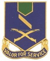 ARMY 137 INFANTRY REGIMENT UNIT CREST