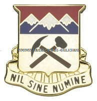 COLORADO STATE AREA COMMAND HQ ARNG UNIT CREST