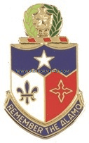 ARMY 141 INFANTRY REGIMENT UNIT CREST