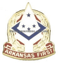 ARKANSAS STATE AREA COMMAND HQ ARNG UNIT CREST