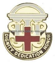 Dwight D Eisenhower Army Medical Center Unit Crest