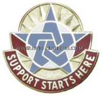 COMBINED ARMS SUPPORT COMMAND FT LEE UNIT CREST