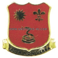 ARMY 143 FIELD ARTILLERY REGIMENT ARNG CALIFORNIA UNIT CREST
