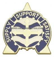 ARMY 146 SUPPORT BATTALION UNIT CREST
