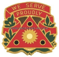 US Army 196th Maneuver Enhancement Brigade Unit Crest