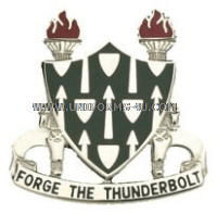 ARMY ARMOR SCHOOL UNIT CREST