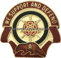 army 1461 transportation company unit crest