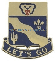 ARMY 153 INFANTRY REGIMENT UNIT CREST