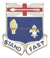 ARMY 155 INFANTRY REGIMENT UNIT CREST