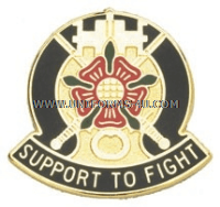 army 155 support battalion unit crest