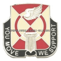 ARMY 935 SUPPORT BATTALION UNIT CREST