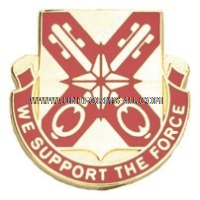 ARMY 927 SUPPORT BATTALION UNIT CREST