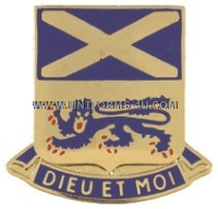 army 156 infantry regiment unit crest