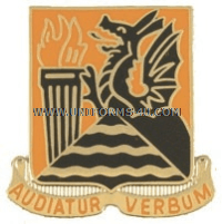 ARMY 156 SIGNAL BATTALION UNIT CREST
