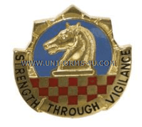 902 military intelligence group unit crest (left hand)