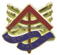 army 157 field artillery arng michigan unit crest