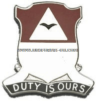 army 890 engineer battalion unit crest