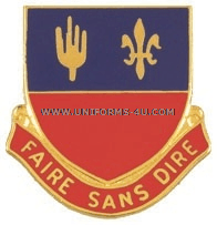 ARMY 161 FIELD ARTILLERY REGIMENT UNIT CREST